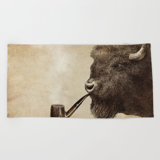 Big Smoke Beach Towel