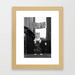 Hello Tiger Framed Art Print