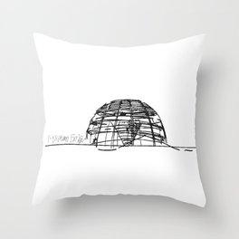 Reichstag Dome, Foster + Partners Throw Pillow