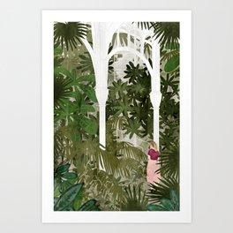 botanic garden Art Print
