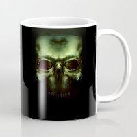 aliens Mugs featuring Aliens by Jav S.