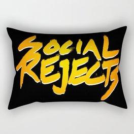 Social Rejects Rectangular Pillow