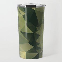 Low-poly camoflauge pattern Travel Mug