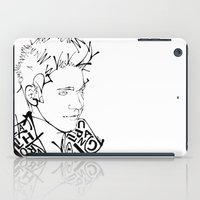 niall iPad Cases featuring Typographic Niall by Ashley R. Guillory
