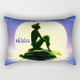 The Little Merman. Rectangular Pillow