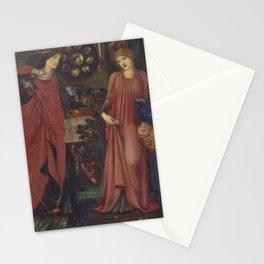 Edward Burne-Jones - Fair Rosamund and Queen Eleanor Stationery Cards