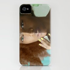 Don't Tell Her She's Pretty For A Darkskin Girl  Slim Case iPhone (4, 4s)