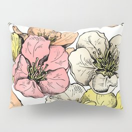 Colorful Poppies Pillow Sham