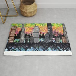 City Scape Rug