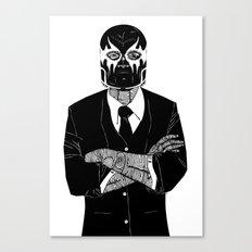 SOLAR SQUAD MAN 2 Canvas Print