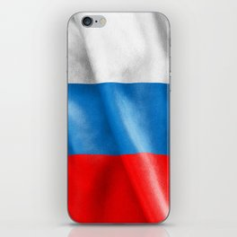Russian Federation Flag iPhone Skin