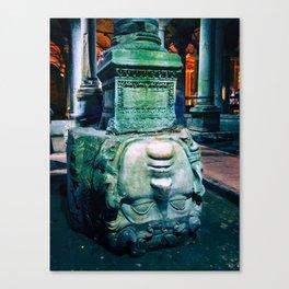 Medusa's Head // Istanbul, Turkey Canvas Print