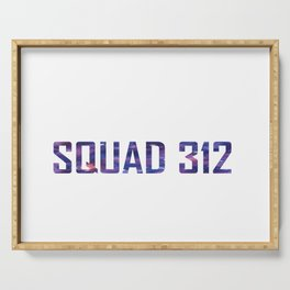 Bookish Squad 312 Aurora Rising Serving Tray