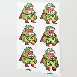 superhero frog Wallpaper