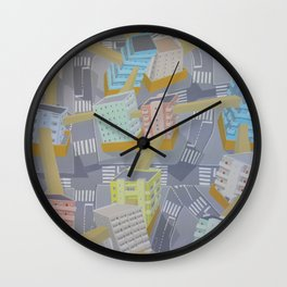 Anti climb - urban living Wall Clock