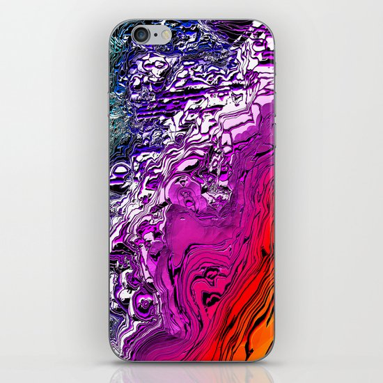 Purple Mountain Majesty iPhone & iPod Skin