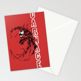 Carnage Stationery Cards