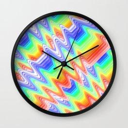 Colorlines Wall Clock