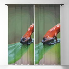 Blue Jeans Frog Costa Rica Blackout Curtain