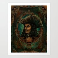 hook Art Prints featuring Hook by ManuelDA