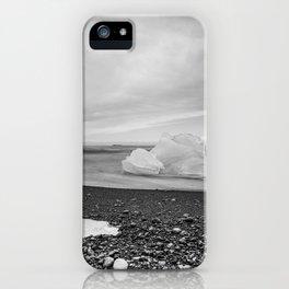 Grey Ice iPhone Case
