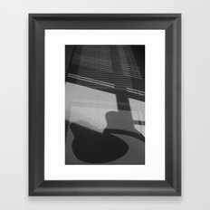 1 o'clock Framed Art Print