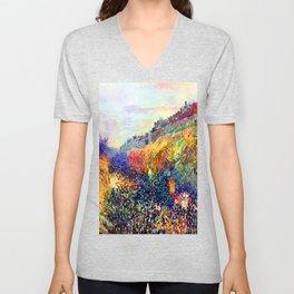 Camille Pissarro Mardi Gras Unisex V-Neck
