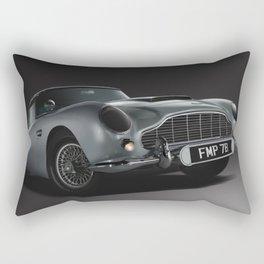 Aston Martin DB5 Digital Painting   Automotive   Cars Rectangular Pillow