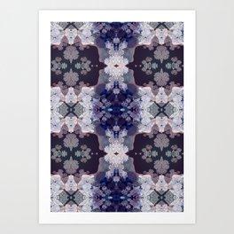 Big Fat Purple Pattern Art Print