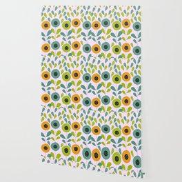Cheery spring flowers Wallpaper