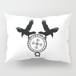 Norse Ravens - Ginfaxi Pillow Sham