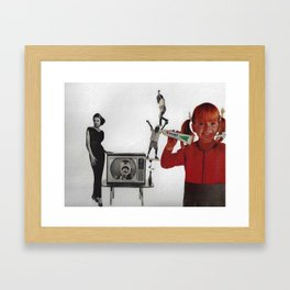 The Kodacrome Colgate Kids Framed Art Print