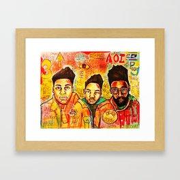 2013 da inner soul yall #delasoul Framed Art Print