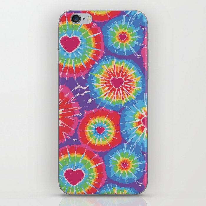 Love Tye Dye iPhone Skin