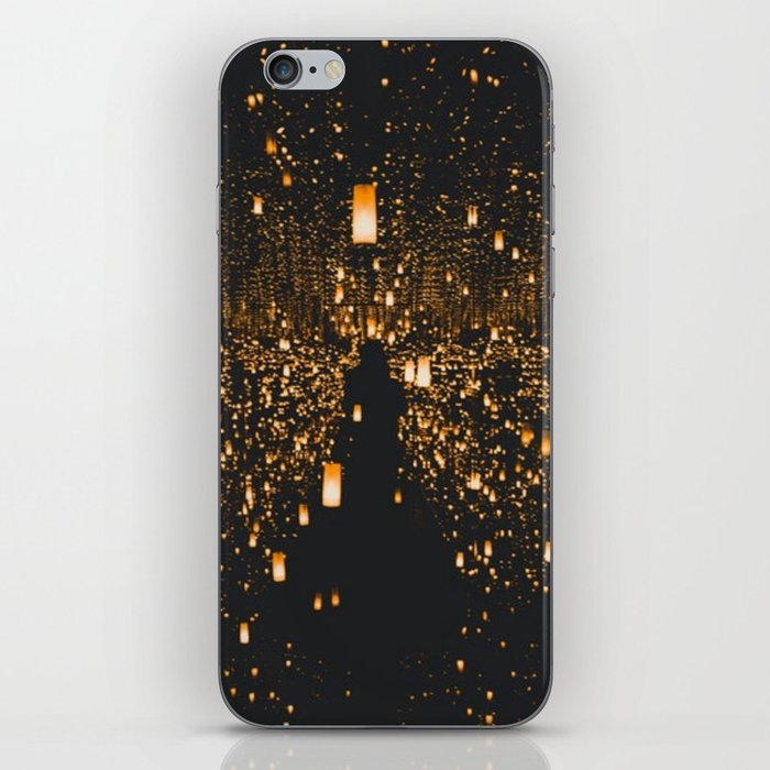 Lighted Lanterns iPhone Skin