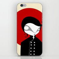 alone iPhone & iPod Skins featuring Alone by Volkan Dalyan