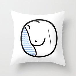10h30 Throw Pillow