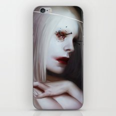 holloweyegod iPhone Skin