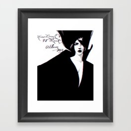 Miss Lucy Framed Art Print