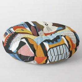 Pablo Picasso Mandolin and Guitar Floor Pillow