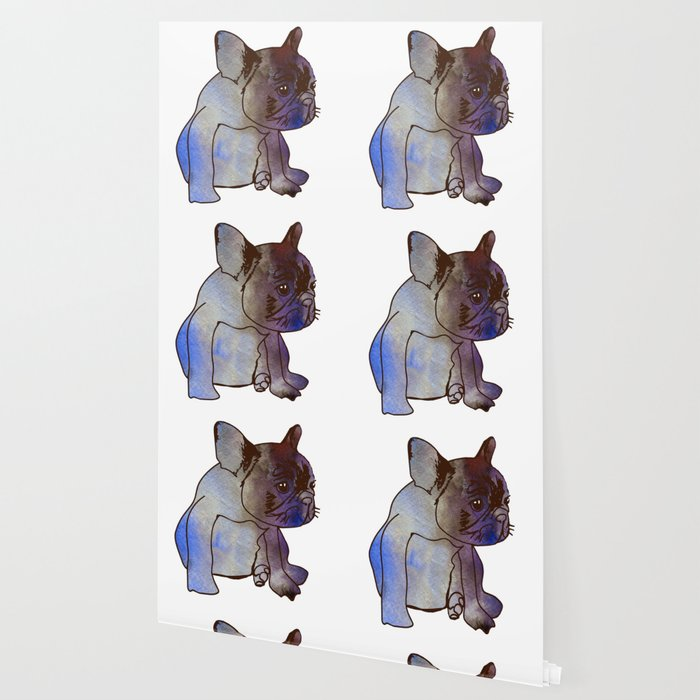 French Bulldog Puppy Cute Baby Dog Wallpaper By Manitarka Society6