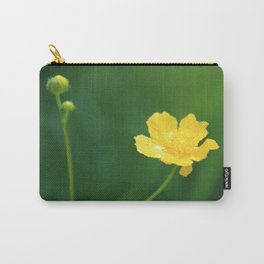 Swamp Buttercup Wildflower Carry-All Pouch