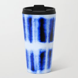 Shibori  Block Pattern Travel Mug