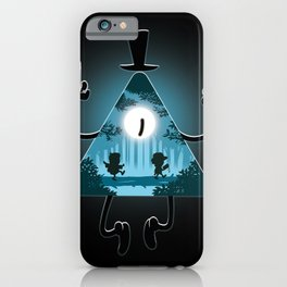 Bill is watching you iPhone Case
