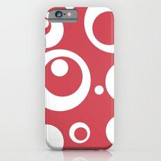 Circles Dots Bubbles :: Berry Blush Slim Case iPhone 6s