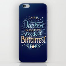 Brightest Stars iPhone Skin