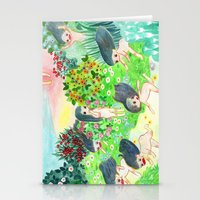 psychedelic Stationery Cards featuring Psychedelic by Risahhh