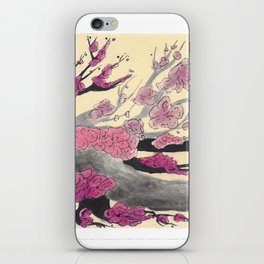 Pink Cherry Blossoms (2 of 3) iPhone Skin