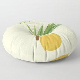 Wish You a Very Joyful Sukkot Floor Pillow