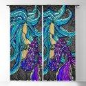 Original Blue Hair Mermaid by artlovepassion